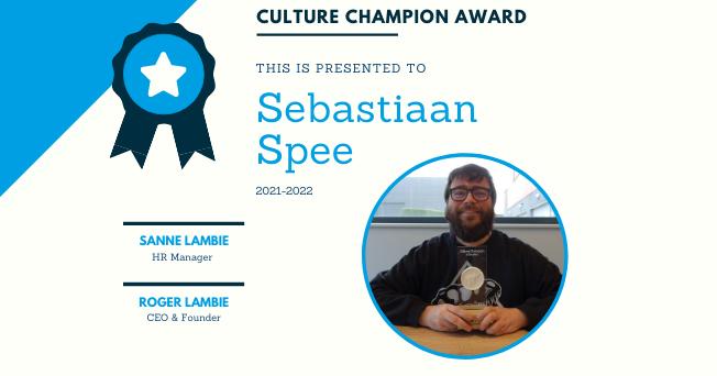 Culture Champion 2021